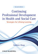 Continuing Professional Development in Health and Social Care Pdf/ePub eBook