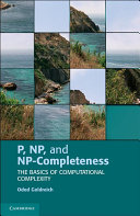 P  NP  and NP Completeness