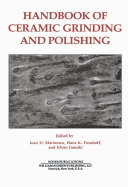 Handbook of Ceramics Grinding   Polishing Book