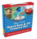 Disney Pixar Board Book   CD Treasury Box