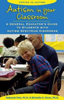 Autism in Your Classroom