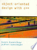 Object-oriented Design with C++