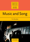 Music and Song   Resource Books for Teachers