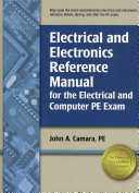 Electrical And Electronics Reference Manual For The Electrical And Computer Pe Exam Book PDF