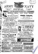 The United States Army and Navy Journal and Gazette of the Regular and Volunteer Forces Book