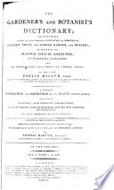 The Gardener and Botanist's Dictionary
