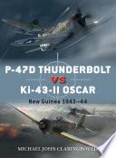 P 47D Thunderbolt vs Ki 43 II Oscar