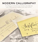 Modern Calligraphy Pdf/ePub eBook