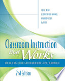 Classroom Instruction That Works