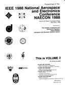 Proceedings of the IEEE 1988 National Aerospace and Electronics Conference  NAECON 1988