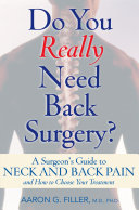 Do You Really Need Back Surgery? Pdf/ePub eBook