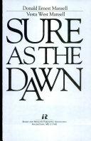 Sure as the Dawn Book