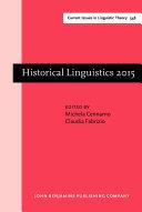 Historical Linguistics 2015