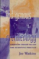 Indigenous Archaeology
