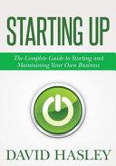 Starting Up Book PDF