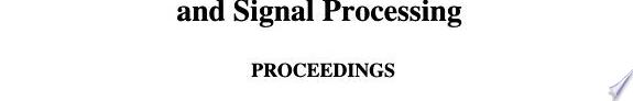 1999 IEEE International Conference on Acoustics  Speech  and Signal Processing