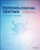 Psychological Testing Pdf/ePub eBook