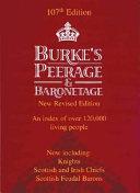 Burke s Peerage  Baronetage   Knightage