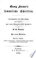 bd. Ansichten vom Niederrhein, von Brabant, Flandern, Holland, England und Frankreich im april, mai und junius [1790