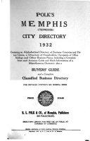 Polk's Memphis (Tennessee) City Directory