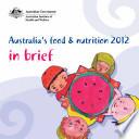 Australia s food   nutrition 2012  in brief