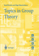 Topics in Group Theory