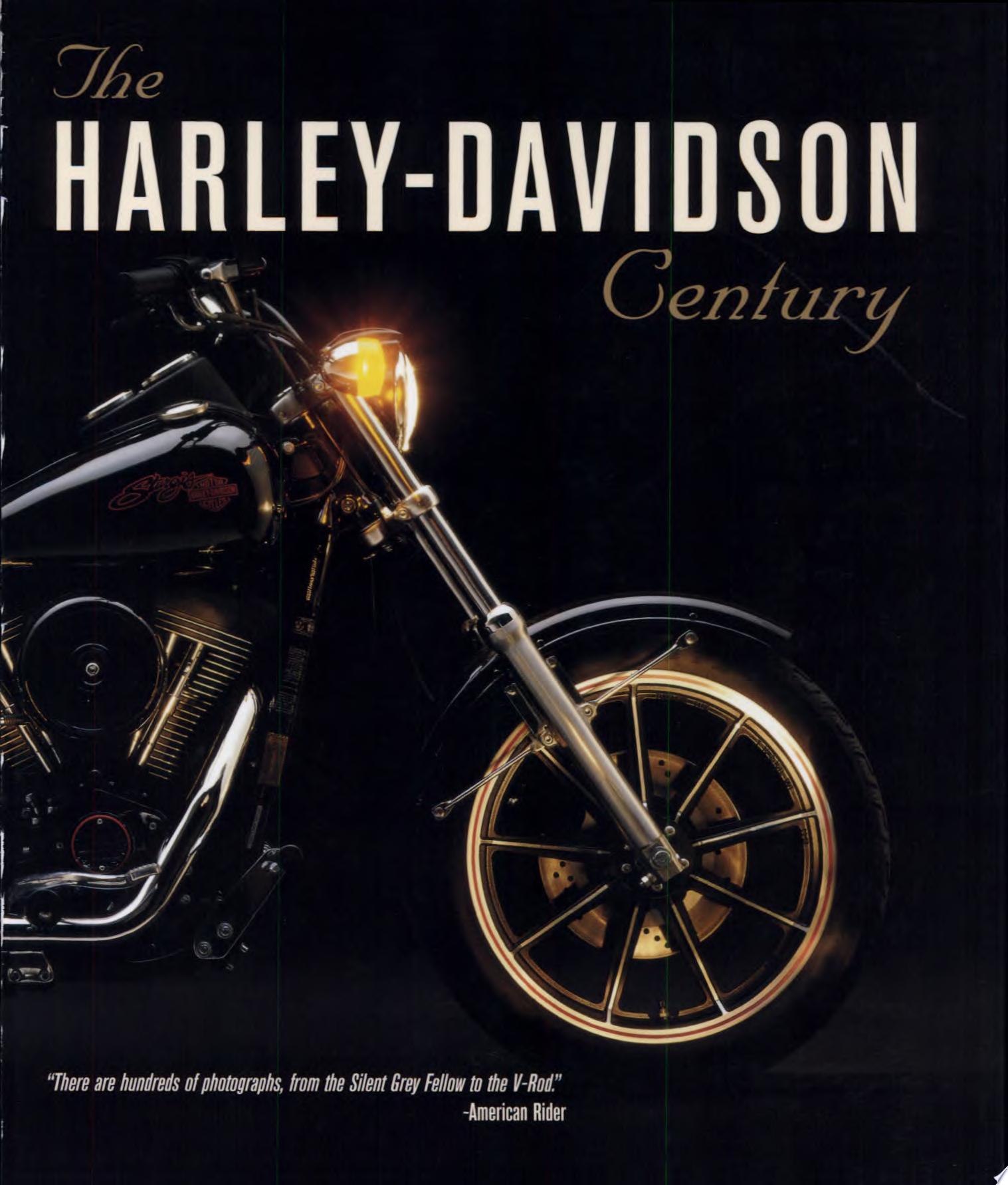 Harley Davidson Century