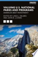 Valuing U S  National Parks and Programs