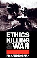 Ethics, Killing and War