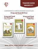 Frog and Toad are Friends, Frog and Toad Together, Frog and Toad All Year by Arnold Lobel