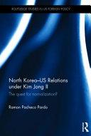 North Korea  US Relations Under Kim Jong Il