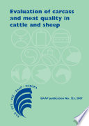 Evaluation of carcass and meat quality in ruminants