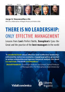 There is no leadership  only effective management