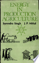 Energy in Production Agriculture