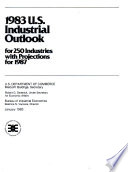U S  Industrial Outlook for     Industries with Projections for