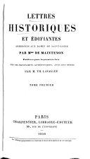 Lettres historiques et édifiantes