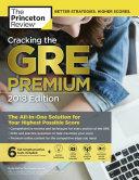 Cracking the GRE Premium Book