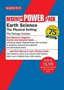 Regents Earth Science Power Pack