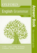 Books - Oxford English Grammar: The Essential Guide Answer Book | ISBN 9780199049974