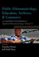 Public Ethnomusicology, Education, Archives, & Commerce Pdf/ePub eBook