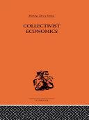 Collectivist Economics