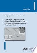 Superconducting Nanowire Single Photon Detectors For Quantum Photonic Integrated Circuits On Gaas