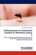 Enhancement of Artemsinin Content in Artemisia Annua L