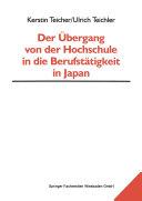 Der Übergang von der Hochschule in die Berufstätigkeit in Japan