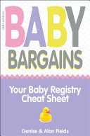 Baby Bargains Book PDF