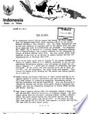 Indonesia News and Views