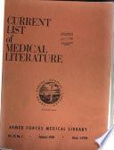 Current List of Medical Literature Book