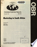 Marketing in South Africa Book