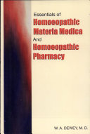 Essentials of hom  opathic materia medica and hom  opathic pharmacy