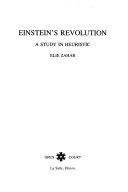 Einstein s Revolution Book